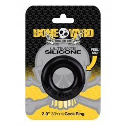 Ultimate Silicone Ring Black (T5664)