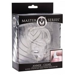 Master Series Annex Super Stretchy Erection Enhancer Clear (T5734)