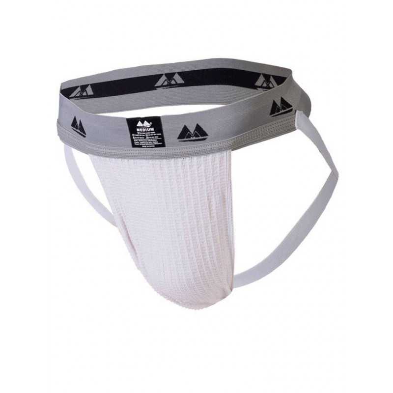 MM The Original Jockstrap Underwear White/Grey 2 inch (T6224)