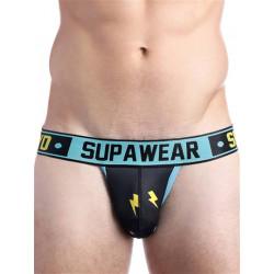 Supawear Sprint Thunda Jockstrap Underwear Black Thunder