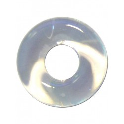 RudeRider Fat Stretchy Cock Ring Clear (T6152)