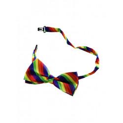 Rainbow Bowtie / Fliege (T6318)