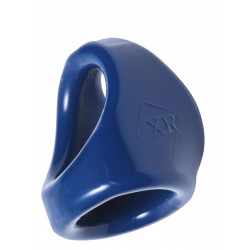 Dual Cock And Ball Ring Erection Enhancer Blue (T6341)