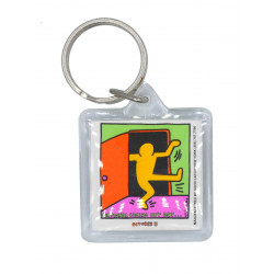 National Coming Out Day Color Key Ring (T5837)