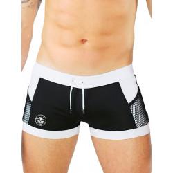 TOF Paris Miami Swim Shorts Swimwear Black (T7120)