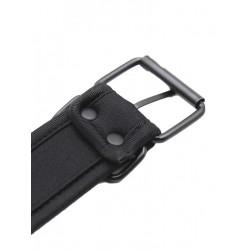 RudeRider Neoprene Puppy Collar Black (T7264)