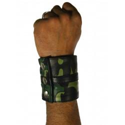 RudeRider Wrist Wallet Leather Camo (T7361)