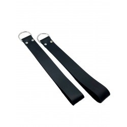 RudeRider Loops (Set of 2) Leather Black (T7353)