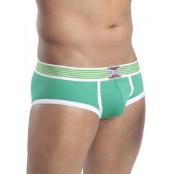 GBGB Vince Underwear Green/White (T7666)