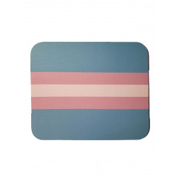 Trans Flag Mousepad