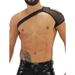 TOF Mesh Shoulder Harness Black (T7937)