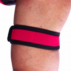 RudeRider Neoprene Puppy 2 Biceps Straps Red (T7259)