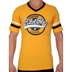 Pistol Pete Champions Short Sleeve Tee T-Shirt Yellow (T4325)