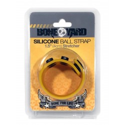 Bone Yard Silicone Ball Stretcher Yellow Glow