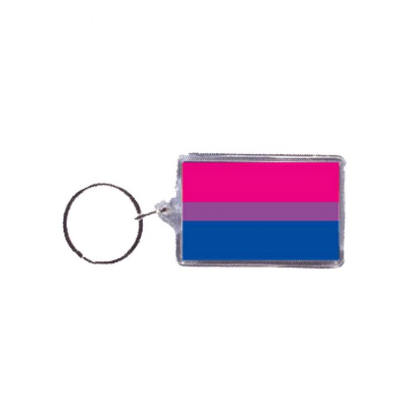 Bisexual Flag Key Ring (T5146)