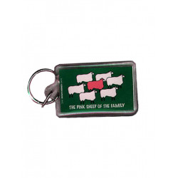 Pink Sheep Of The Family Key Ring (T5137)