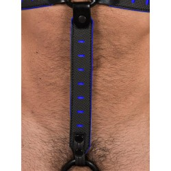 665 NeoFlex Down Strap Neoprene Harness Extension Regular Black/Blue (T4978)